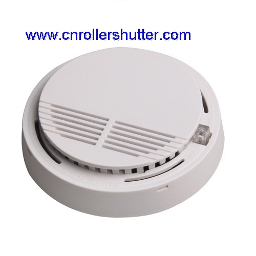wireless fire smoke alarm sensor for roller shutter. Black Bedroom Furniture Sets. Home Design Ideas